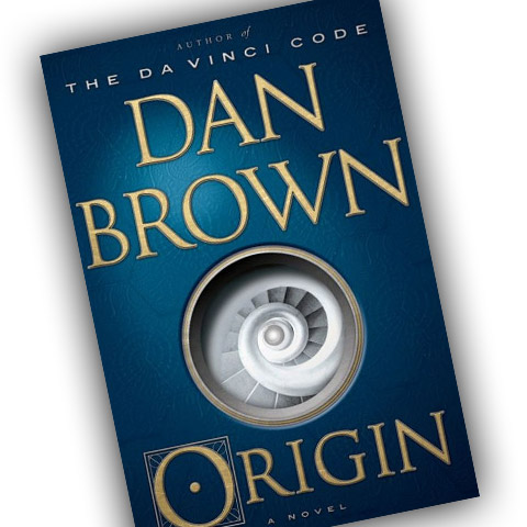 Dan Brown - Origin (bokomslag)